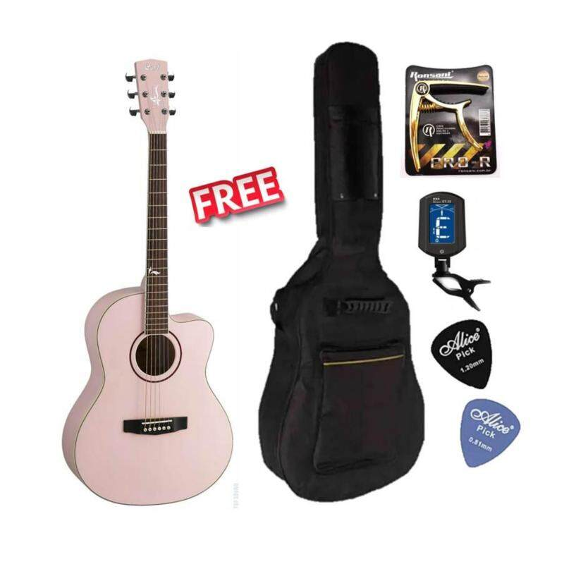 Cort Jade 2 Solid Spruce Top Acoustic Guitar Free Bag, capo, Tuner & picks Malaysia