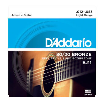 D'addario Daddario Bronze/Phospher Bronze Acoustic Guitar StringsEJ10 EJ11 EJ12 EJ13 EJ15 EJ16 EJ17 EJ26