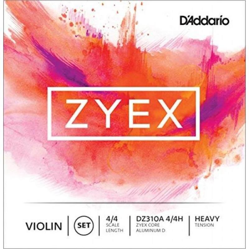 DAddario Zyex Violin String Set with Aluminum D, 4/4 Scale, Heavy Tension Malaysia