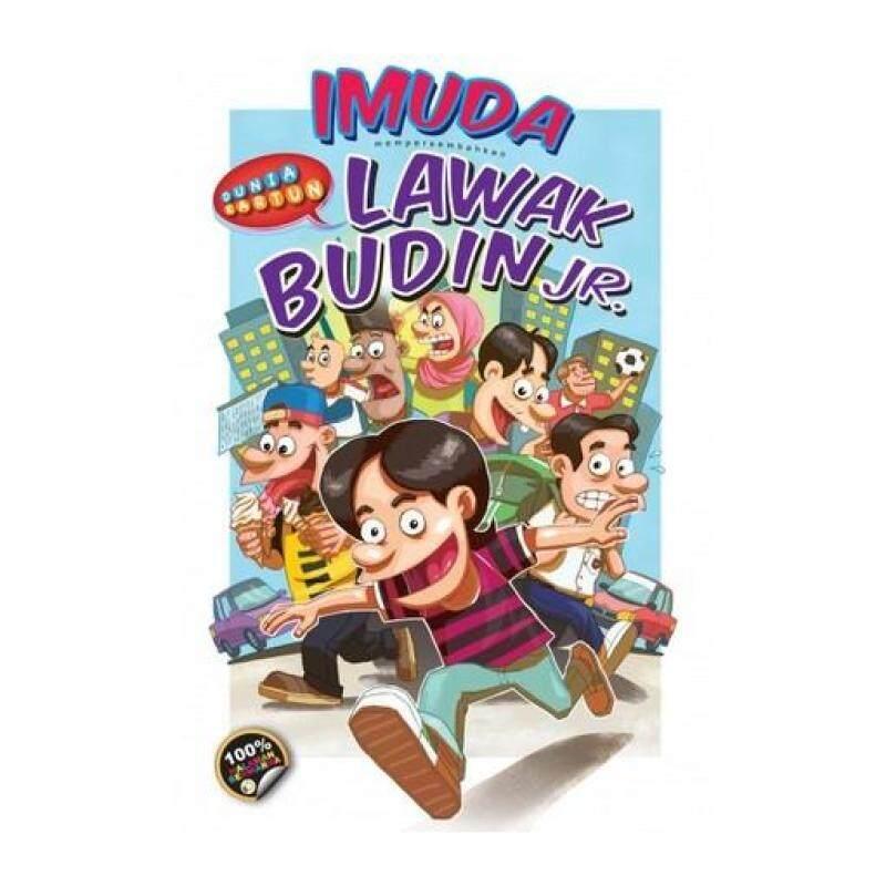 Dunia Kartun: Lawak Budin Jr. 9789674101008 Malaysia