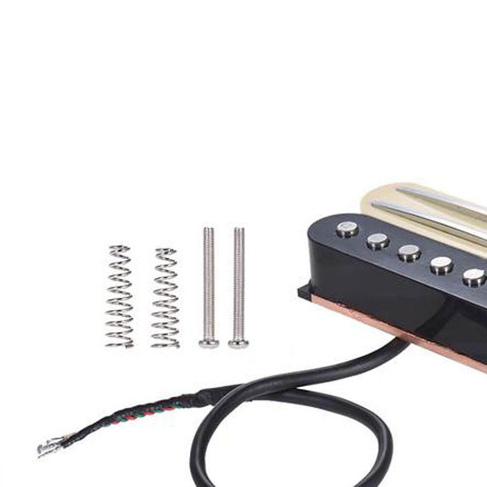 Cari Tawaran Terbaik Electric Guitar Pickup Dual Rail Bridge Hot Humbucker Neck 4 Wire For Guitarin Single Coilpickup