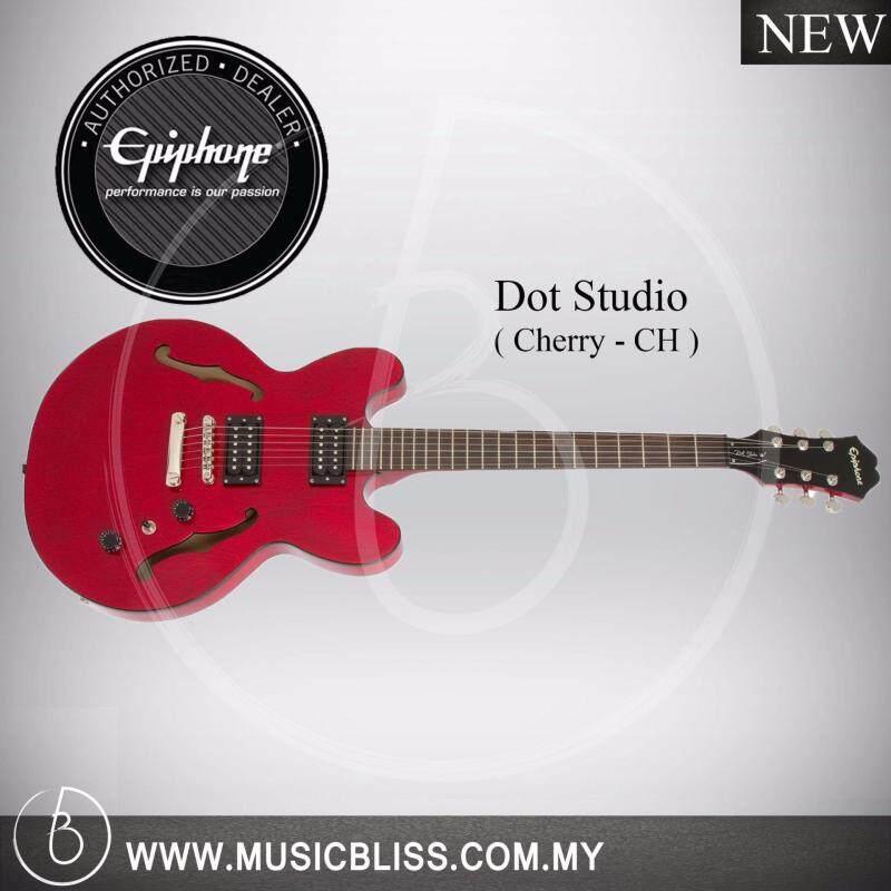 Epiphone Dot Studio Electric Guitar (Cherry) Malaysia