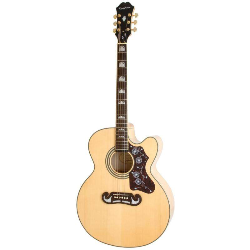 Epiphone EJ-200CE Acoustic/Electric Guitar (Natural) Malaysia