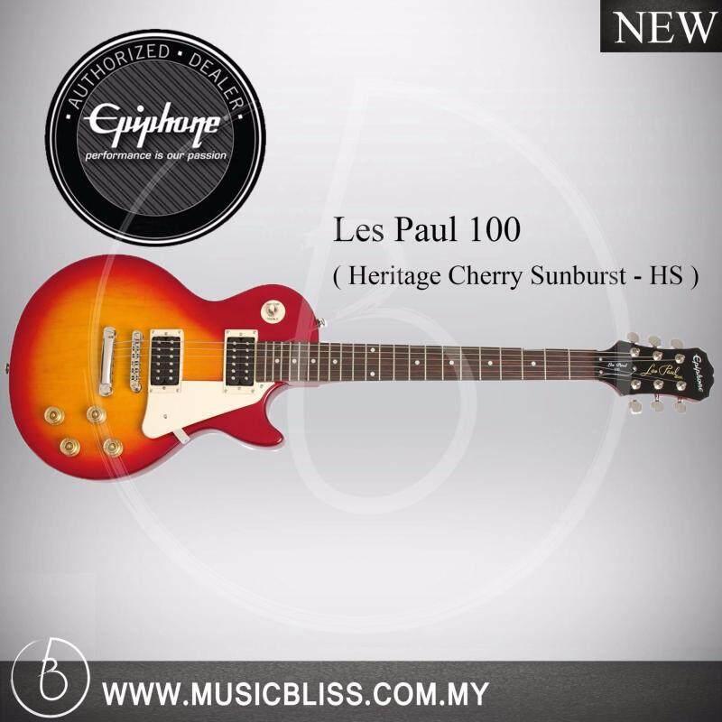 Epiphone Les Paul 100 Electric Guitar (Heritage Cherry Sunburst) Malaysia