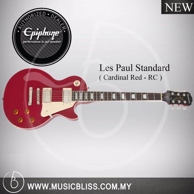 Epiphone Les Paul Standard Electric Guitar (Cardinal Red) Malaysia