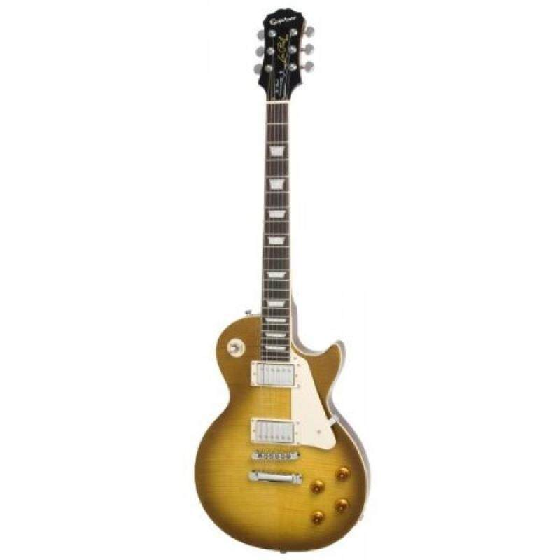 Epiphone Les Paul STANDARD PLUS-TOP PRO Electric Guitar with Coil-Tapping, Honey Burst Malaysia