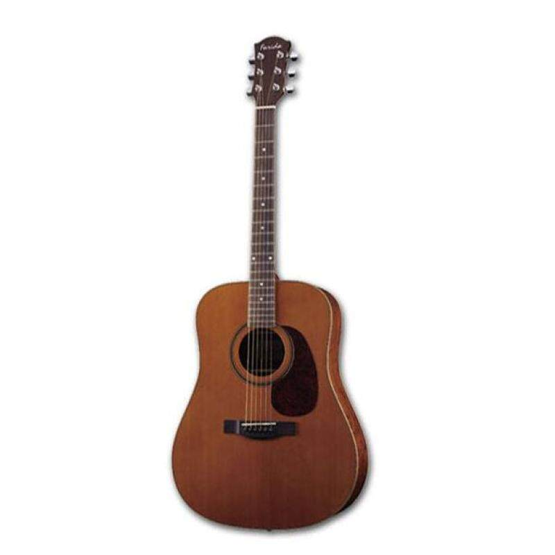 FARIDA D32 Solid Red Cedar Acoustic Guitar Malaysia