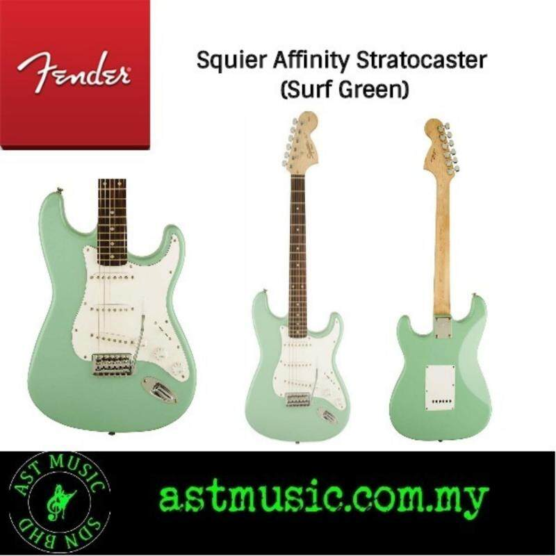 Fender Squier Affinity Stratocaster (Surf Green-Limited Edition) Malaysia