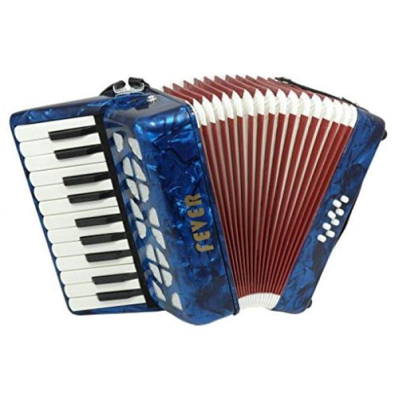 Fever Piano Accordion 22 Keys 8 Bass, Blue Malaysia