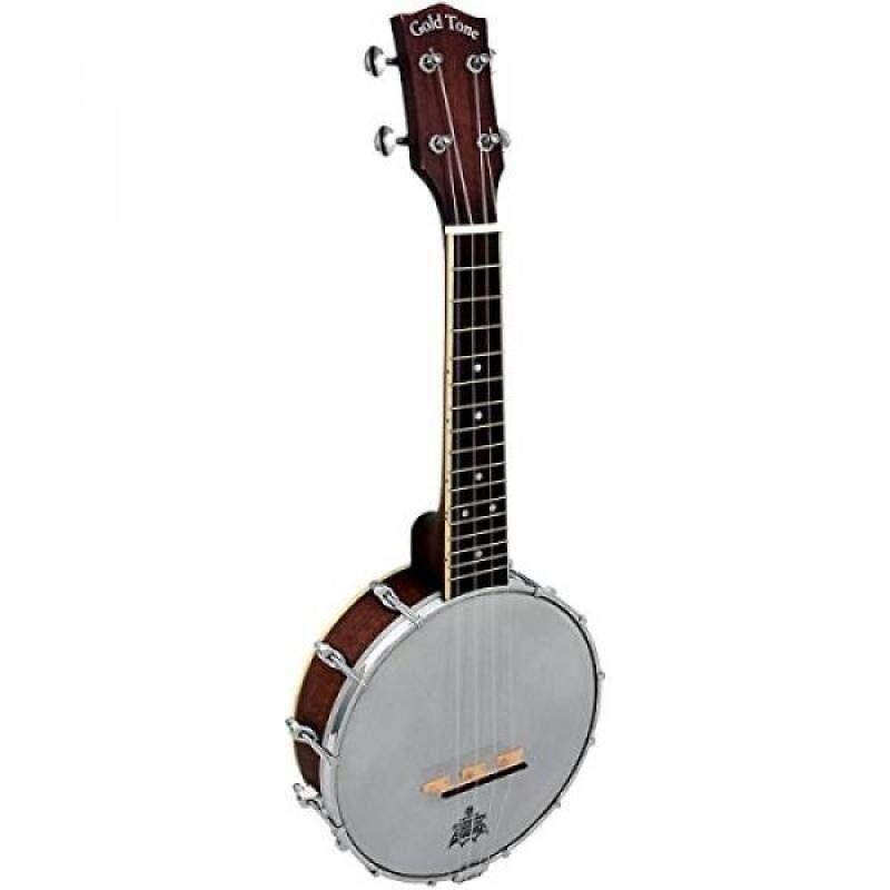 Gold Tone BUS Soprano Banjo Ukulele (Vintage Brown) Malaysia