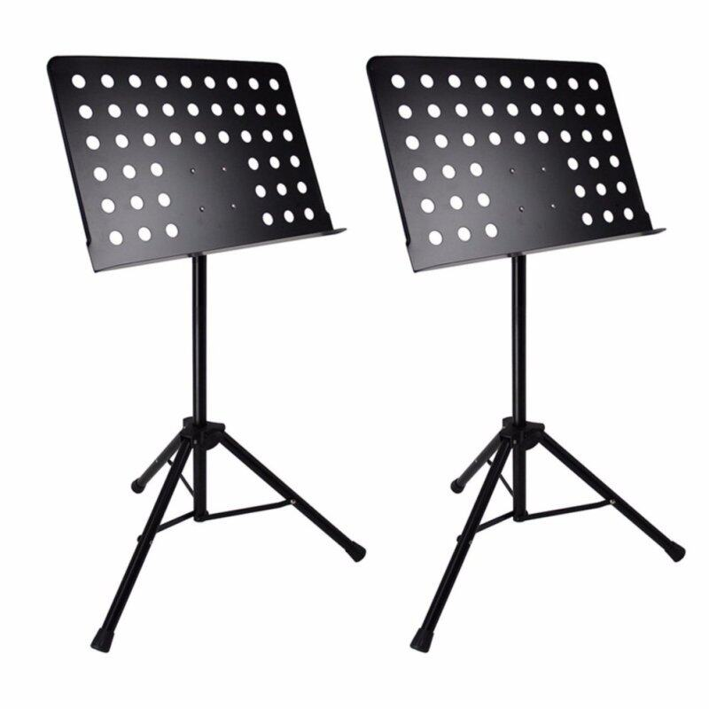 GP Heavy Duty (2 x valuepack) Music Stand for Orchestra, Conductor, Violin, Keyboard, Guitar, Ukulele & Food Menu (Better Quality) Malaysia