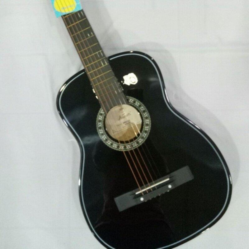 Guitar  acoustic kapok (Black) Malaysia
