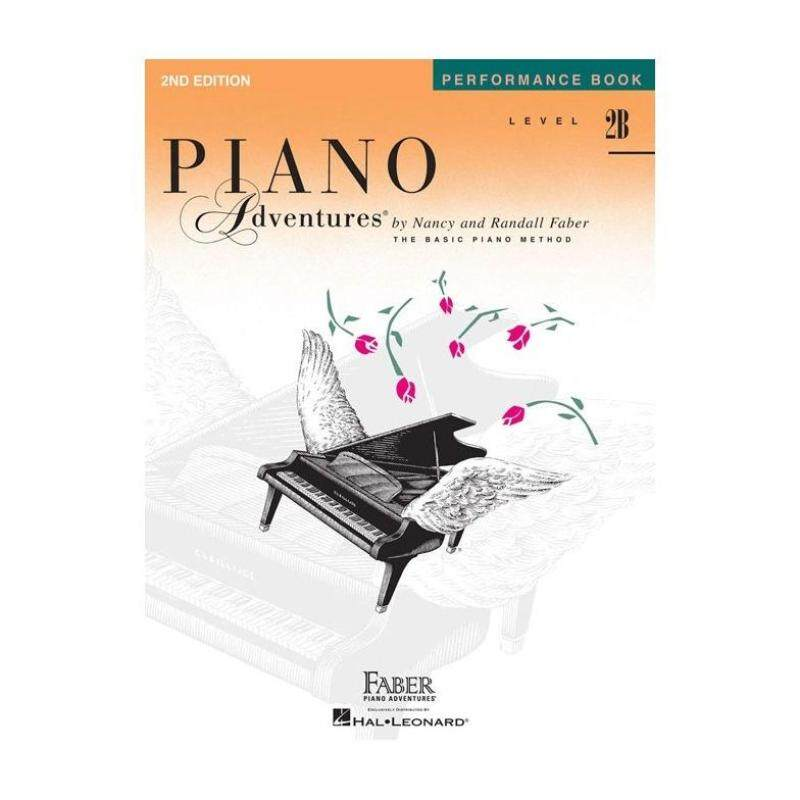 Hal Leonard 2nd Edition Piano Adventures Performance Book Level 2B Malaysia