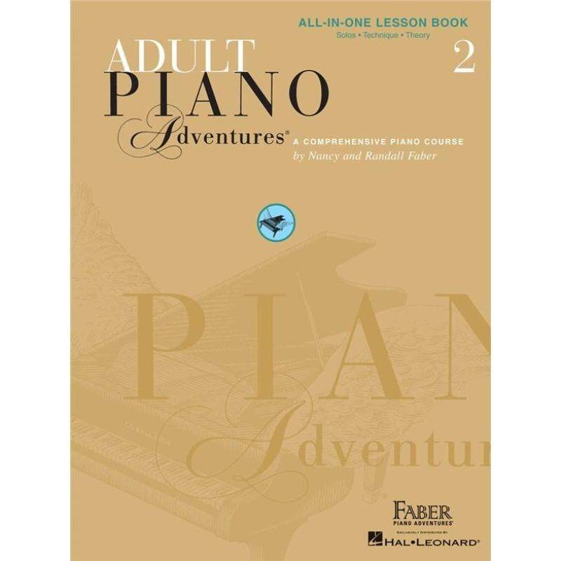 Hal Leonard Adult Piano Adventures All-In-One Lesson Book 2 ( Solos. Technique. Theory ) Malaysia
