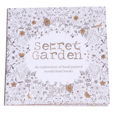 Hanyu Coloring Book Secret Garden 40 Pages English