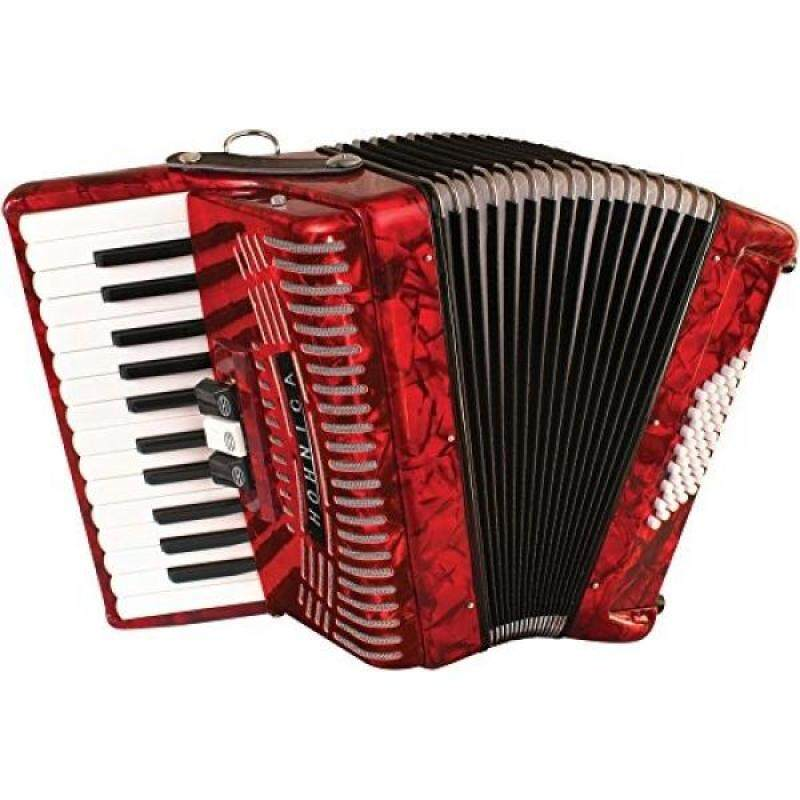 Hohner Accordions 1304-RED Malaysia
