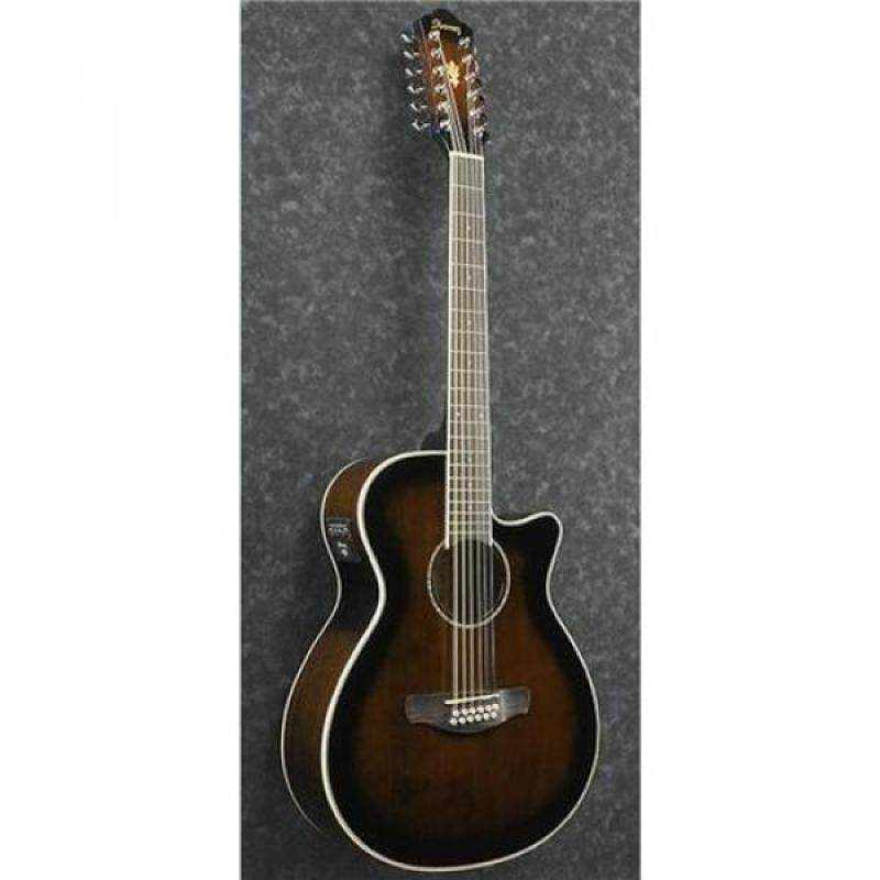 Ibanez AEG1812II AEG 12-String Acoustic-Electric Guitar Dark Violin Sunburst Malaysia