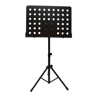Harga Heavy Duty Music Stand for Orchestra, Conductor, Violin, Keyboard, Guitar, Ukulele & Food Menu(High Quality)