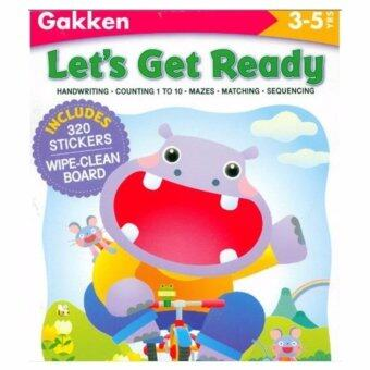 Harga LET'S GET READY (GAKKEN WORKBOOKS)320 STICKERS 3-5 YEARS[PAPERBACK]