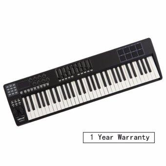 Harga Worlde PANDA 61-key Professional Studio Piano Keyboard MIDI Controller (M-audio, Novation, Akai, Korg alike)