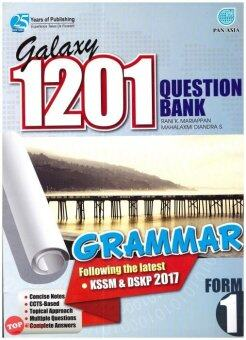 Harga Pan Asia Galaxy 1201 Questions Bank Grammar Form 1