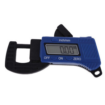 Harga New Carbon Fiber Composites Digital Thickness Caliper Micrometer Guage
