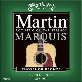 Harga Martin M2000 Marquis Acoustic Guitar Strings Phosphor, 010-047