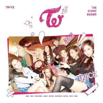 Harga TWICE - THE STORY BEGINS (1st Mini) CD+Garland+3 Cards+Folded Poster+Gift Photocards