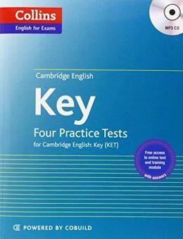 Harga Four Practice Tests for Cambridge English: Key (KET) (Collins Cambridge English)