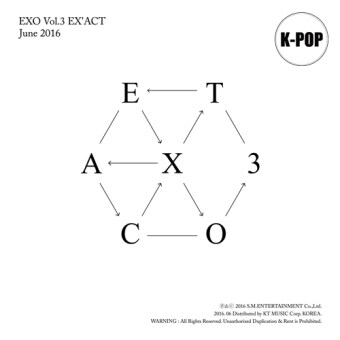 Harga EXO - 3rd Album [EX'ACT] KOREAN ver. (Lucky / Monster Random)