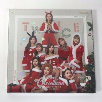 Harga TWICE - TWICECOASTER : LANE 1 [Christmas Edition] + Folded Poster + Free Gift