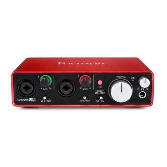 Harga Focusrite Scarlett 2i2 (2nd Gen) 2in/2out USB 2.0 Audio Interface, featuring two Focusrite Preamps
