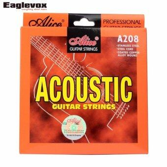 Harga Acoustic Guitar Strings Stainless Steel Coated Copper Alloy Wound Alloy Wound Alice A208-SL