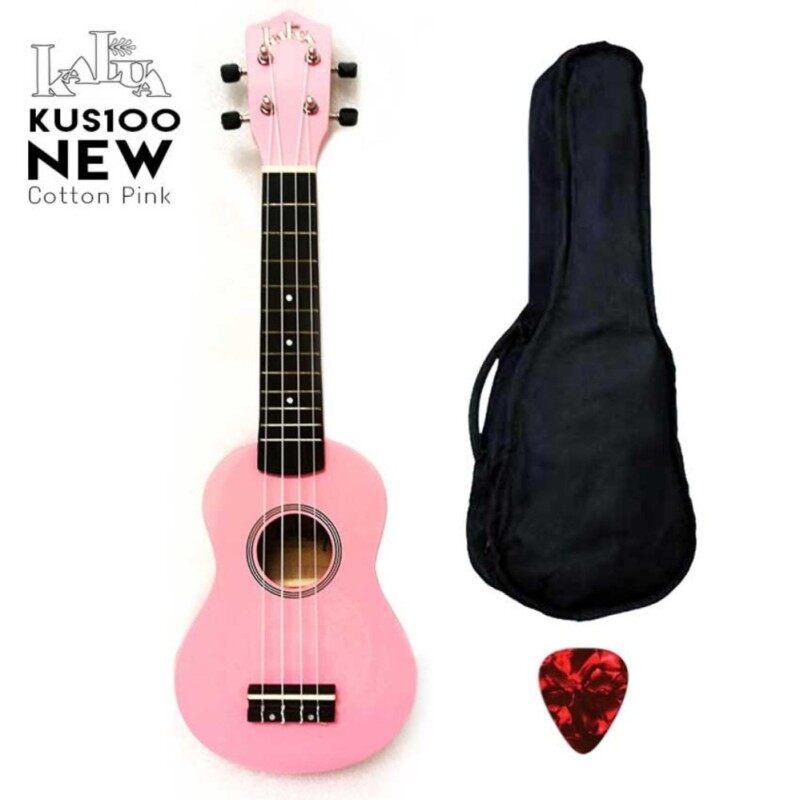 Kalua Ukulele Soprano KUS100 Pink (FOC bag + 1 pick ) Malaysia