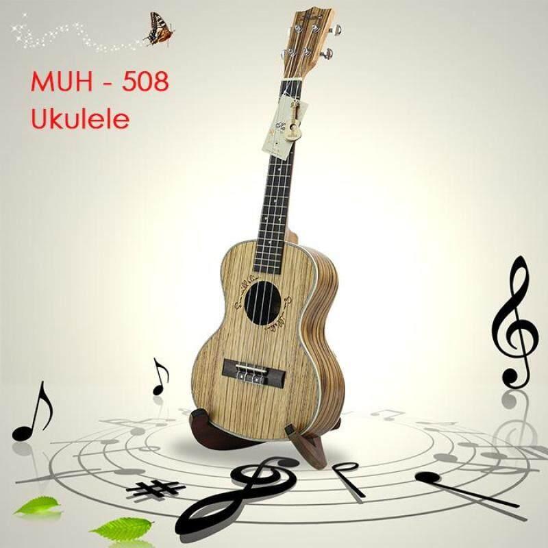 Kasch MUH - 508 26 inch Zebra Wood Tenor Ukulele Full Closed Mini Guitar Malaysia