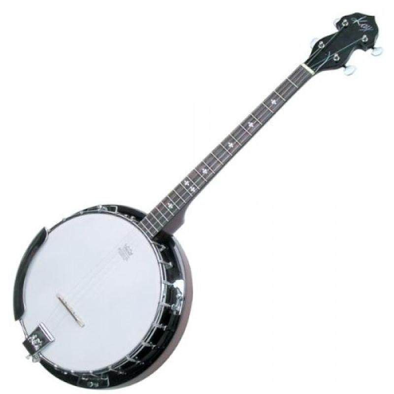 Kay KBJ40 Tenor Banjo Irish Rose 4 String Banjo with Tuner and Strap! Malaysia