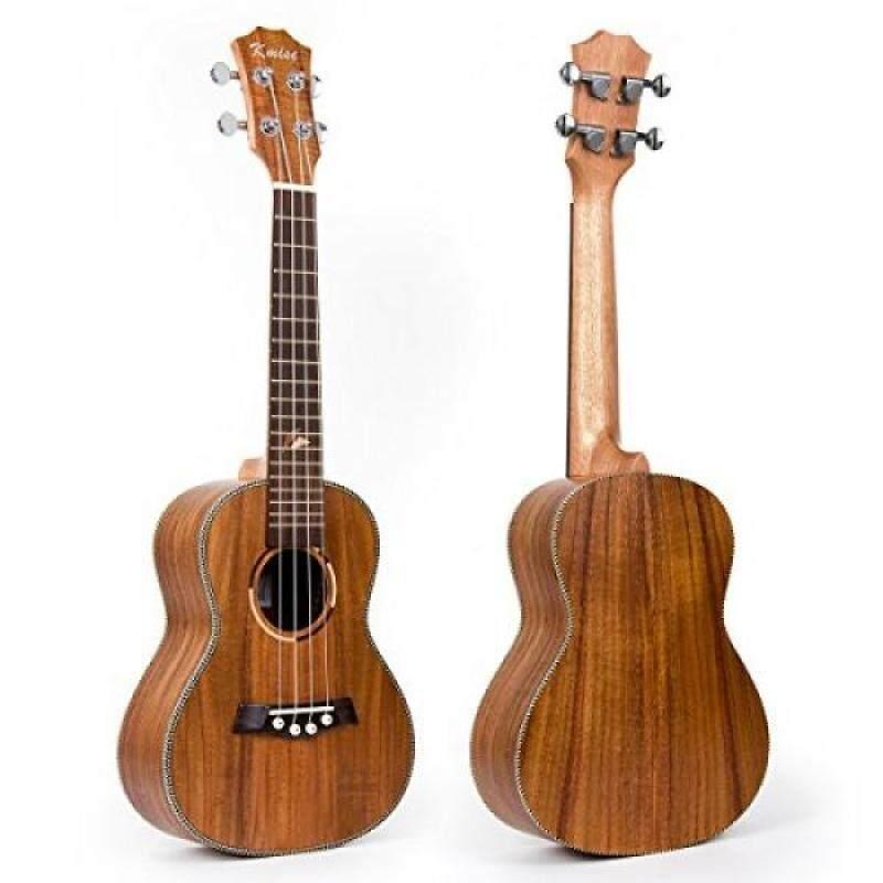 Kmise Concert Ukulele Uke Acoustic Hawaiian Guitar 23 Inch 18 Frets with Spruce Rosewood Malaysia