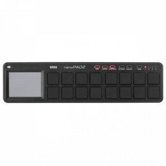 Korg nanoPAD2 SLIM-LINE USB Controller Black (NanoPad2)