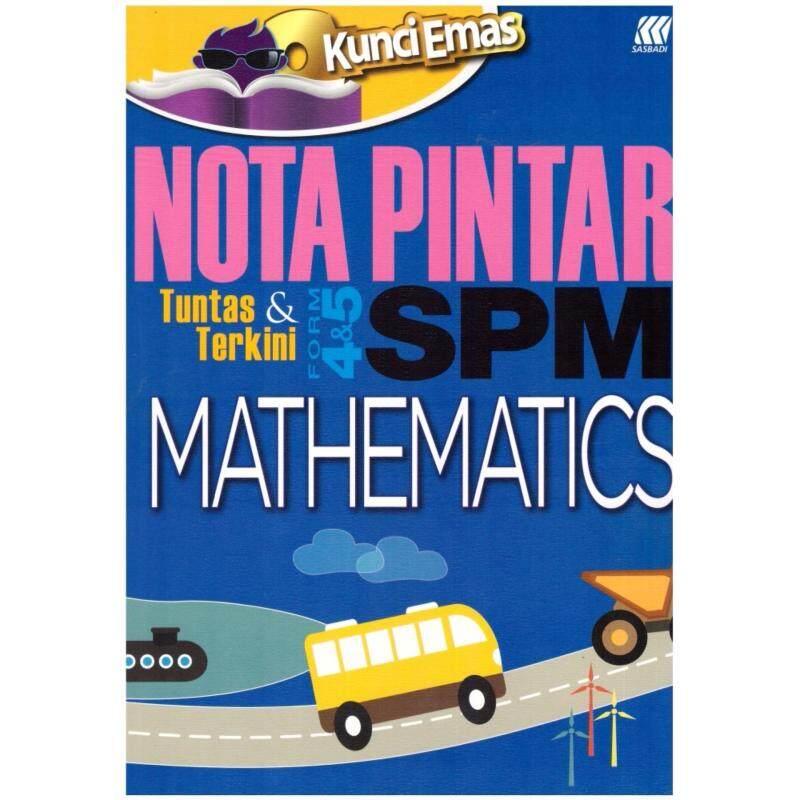 Kunci Emas Nota Pintar SPM Mathematics Malaysia