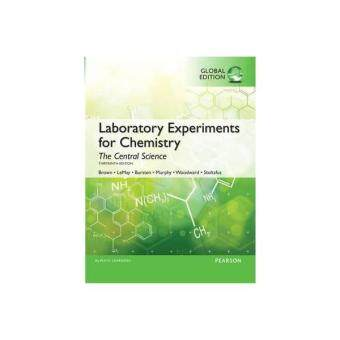 LABORATORY EXPERIMENT CHEMISTRY - ISBN: 9781292077604