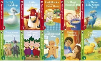 Ladybird Read It Yourself Level 1 & Level 2 Combo Sets - 10books