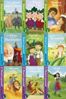 Ladybird Read It Yourself Level 2, Level 3 & Level 4 Combo Set - 9 books