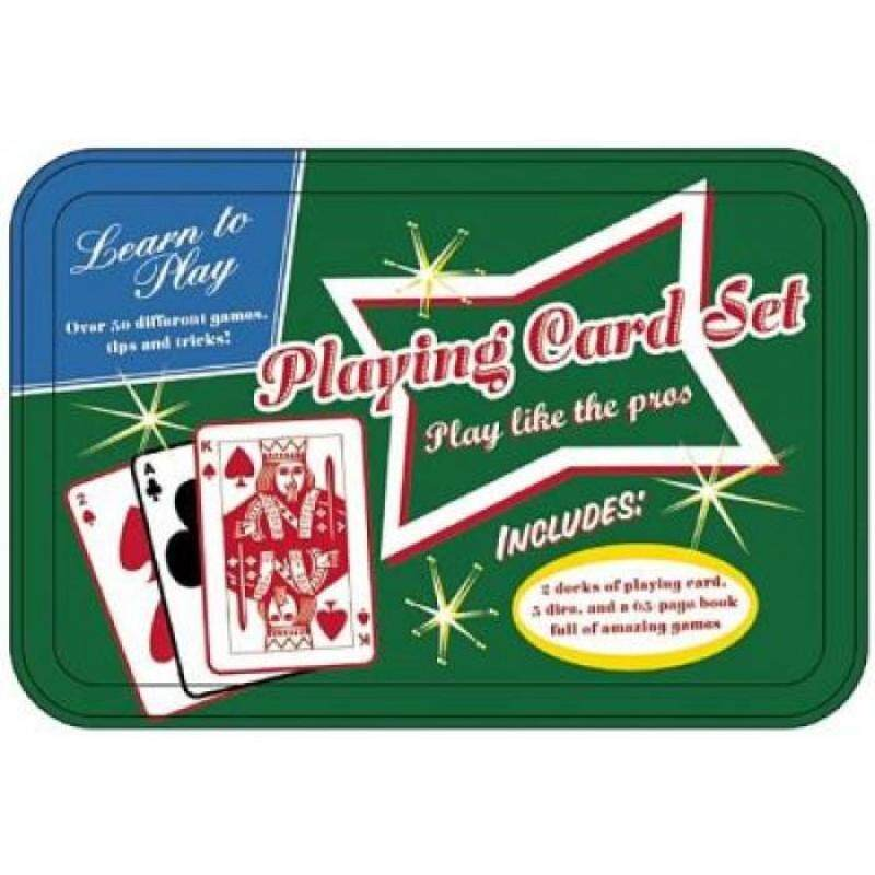 Learn to Play: Playing Card Set Play Like The Pros Tins Set 9781607107408 Malaysia