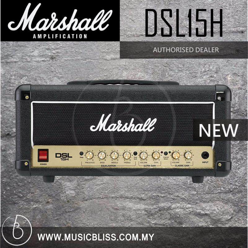 Marshall DSL15H 15-watt All-tube Guitar Amp Head Malaysia