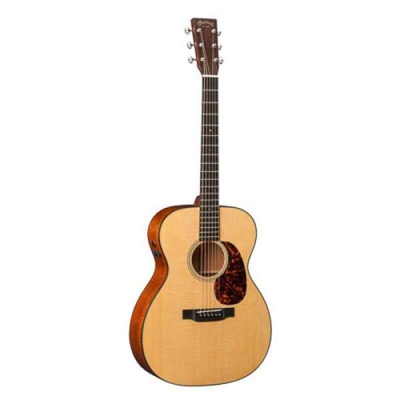 Martin Semi Acoustic Guitar 000-18E Retro Limited Editions /Solid Sitka Spruce top/ B&S:Solid Mahogany/ Fishman F1 Aura Plus With Case Malaysia