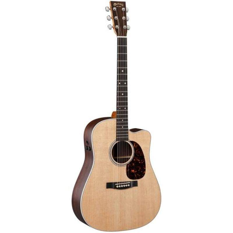 Martin Semi Acoustic Guitar DCPA4 Rosewood /Top:Solid Sitka Spruce,B&S: Solid East Indian Rosewood/ Fishman F1 Analog With Case Malaysia