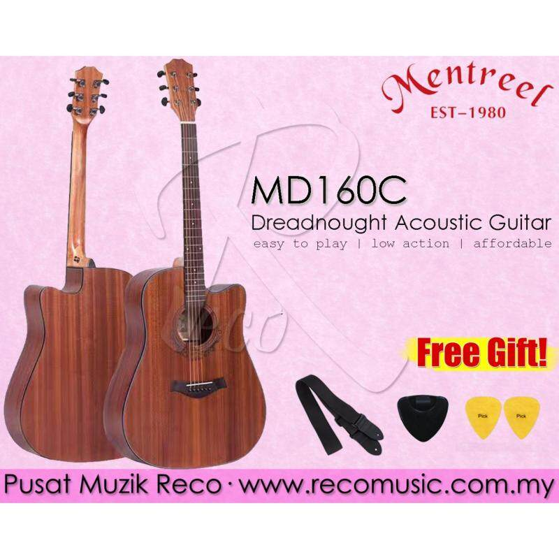 Mentreel MD160C Dreadnought Acoustic Guitar Malaysia