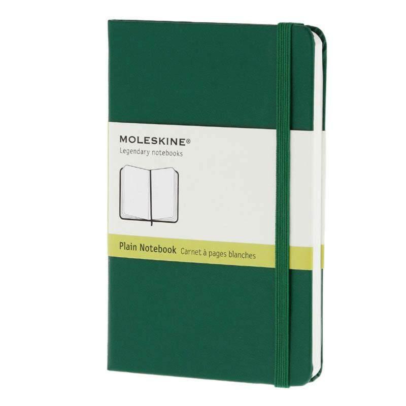 Moleskine Notebook - Pocket - Plain - Oxide Green - Hard Malaysia