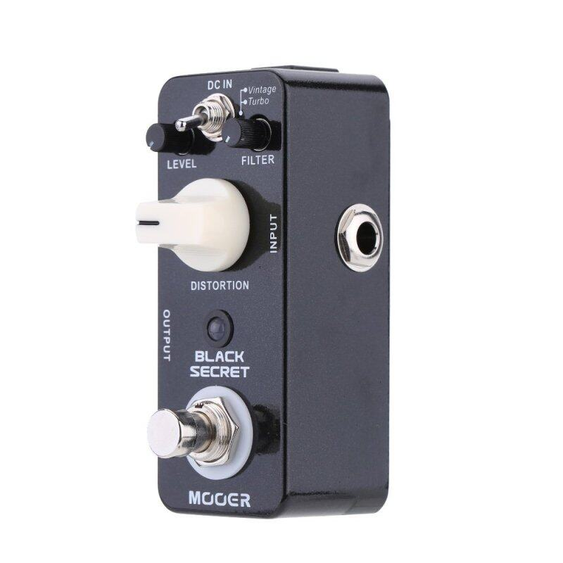 Mooer Black Secret Micro Mini Distortion Electric Guitar Effect Pedal True Bypass Malaysia