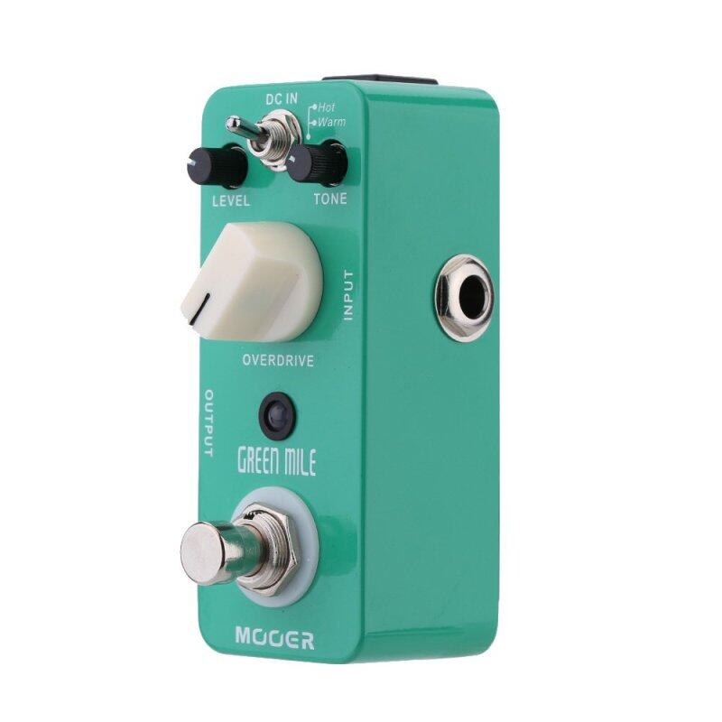 Mooer Green Mile Micro Mini Overdrive Electric Guitar Effect Pedal True Bypass Malaysia